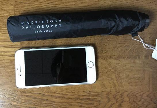 バーブレラ (Barbrella)とiPhone 6s
