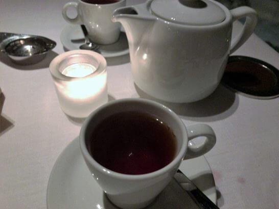 ハイアットリージェンシー京都「THE GRILL」の紅茶