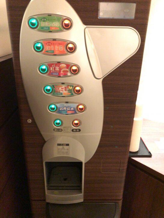 京都ホテル ウエルカムラウンジのドリンク機