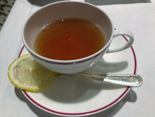 フレンチビストロ「ル ドール」の紅茶