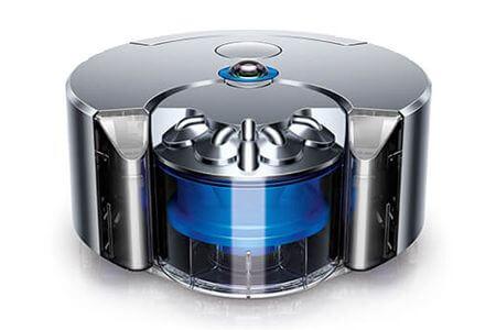 ダイソンのロボット掃除機(Dyson 360 eye)ブルー