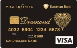 Eurasian Diamond Card Visa Infinite