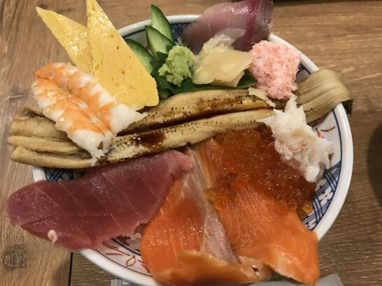クラブオフ特典がある磯丸水産の海鮮丼
