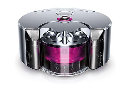 ダイソンのロボット掃除機(Dyson 360 eye)フューシャ