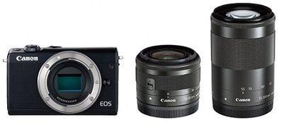 ミラーレスカメラ EOS M100 ダブルズームキット
