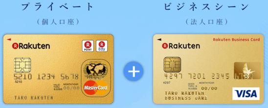 楽天プレミアムカードと楽天ビジネスカード
