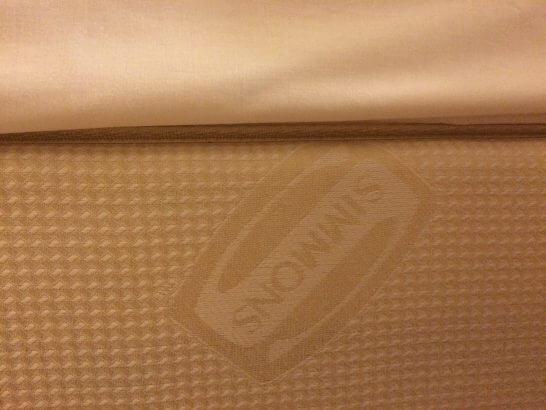 センターホテル東京のベッド (シモンズ)