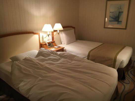 グランドニッコー東京 台場(旧ホテル グランパシフィック LE DAIBA)のベッド