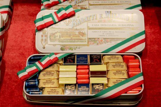 外国のお土産のチョコレート