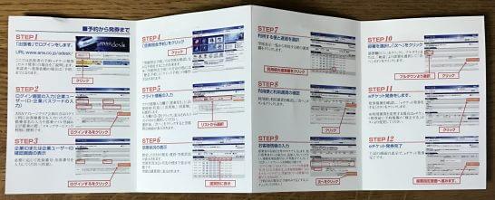 ANA@desk ハンディ操作ガイドブック (3)