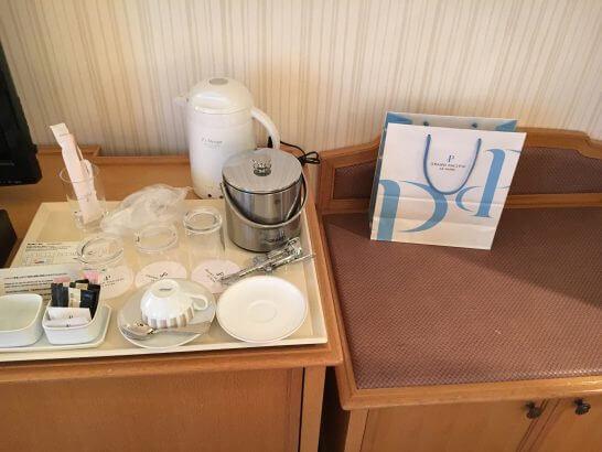 グランドニッコー東京 台場(旧ホテル グランパシフィック LE DAIBA)の荷物置き
