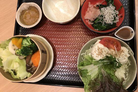 大戸屋の野菜類