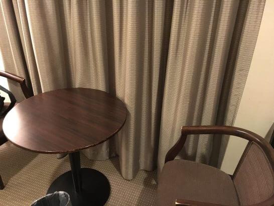 ホテルメッツ高円寺のデスク