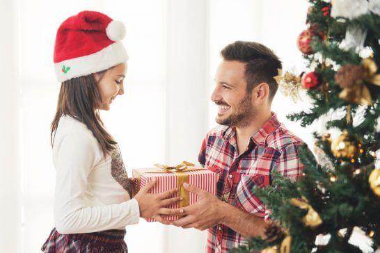 プレゼントの交換