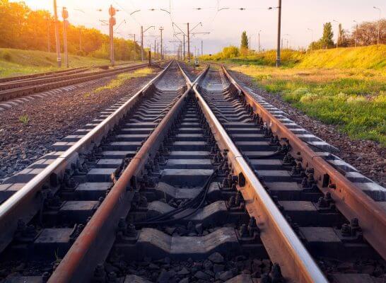鉄道のレール