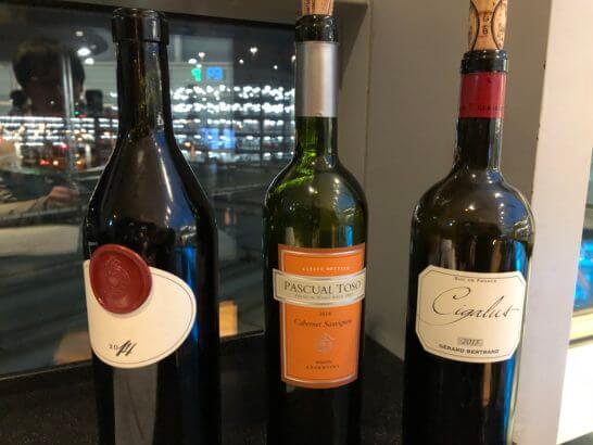 ワールドワインバー by ピーロートでのワインのテイスティング
