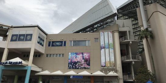横浜・八景島シーパラダイスのアクアミュージアム アクアスタジアム