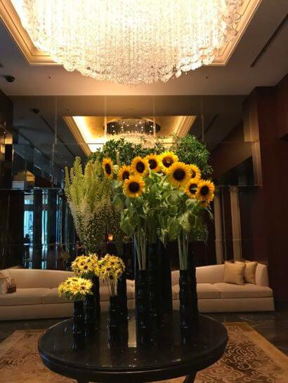 シャングリ・ラ ホテル 東京の入口