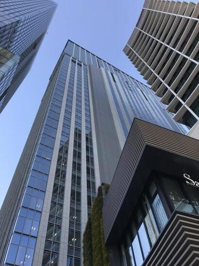 シャングリラ・ホテル東京の外観