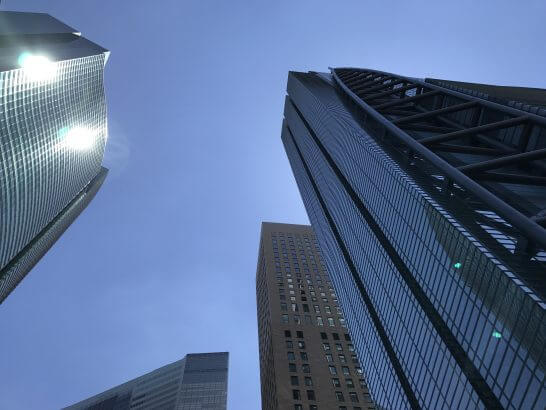 汐留の高層ビル