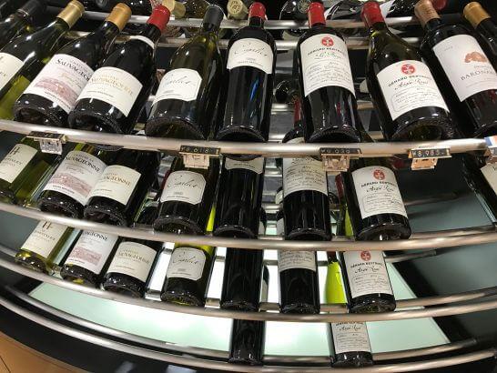 恵比寿三越のワインショップのワイン