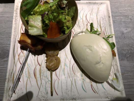 東京マリオットホテルのエグゼクティブラウンジのパン
