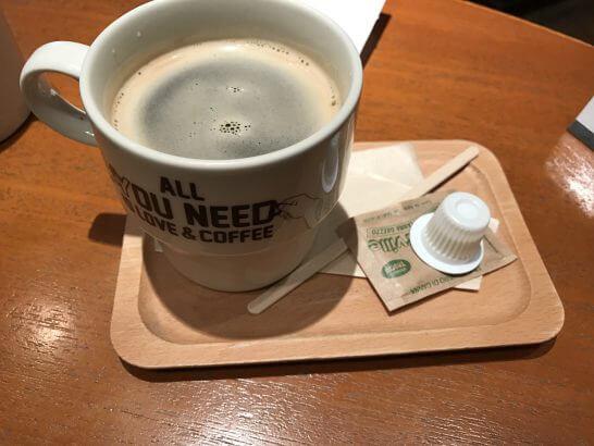 signのホットコーヒー