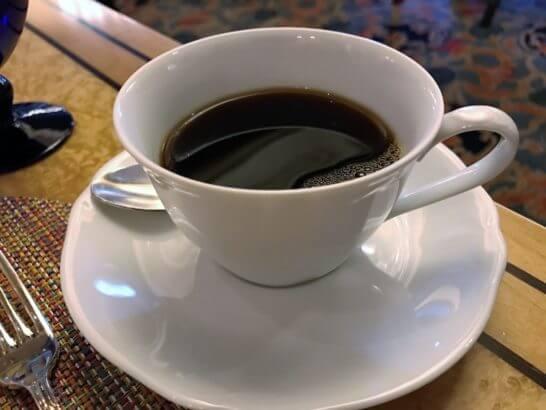 椿山荘のイル・テアトロのコーヒー
