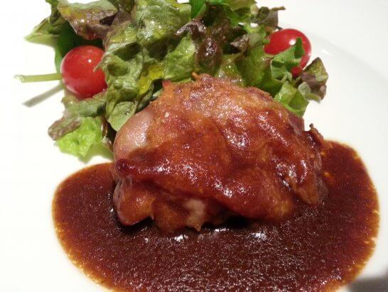 観音崎京急ホテルの肉料理