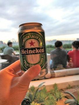 ヒルトン東京お台場のエグゼクティブラウンジのビール