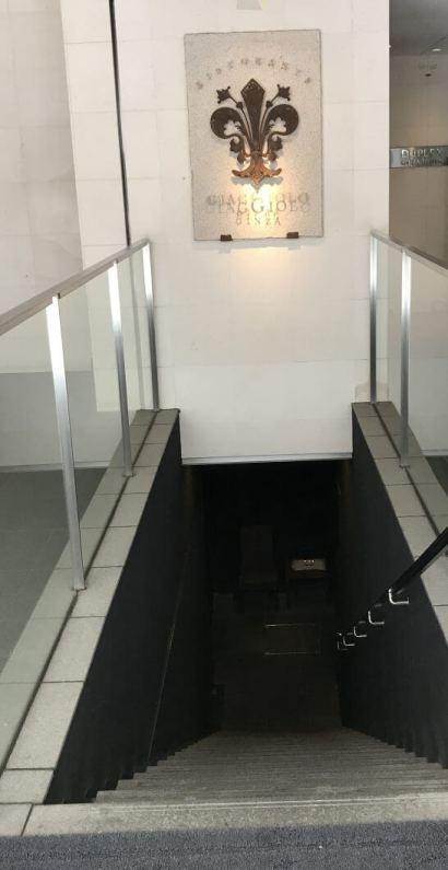 ジャッジョーロ銀座 (入り口)