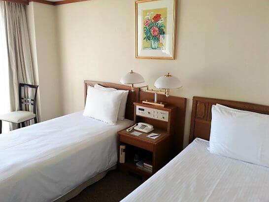 ヒルトン小田原のベッド