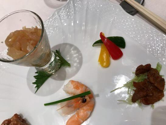 季節の前菜7種盛り合わせ (2)
