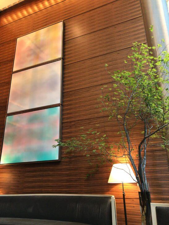 フォーシーズンズホテル東京のエレベーターホール (3)