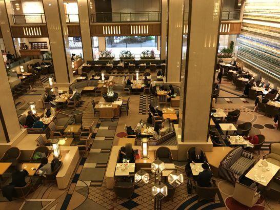 帝国ホテル東京のロビーラウンジ