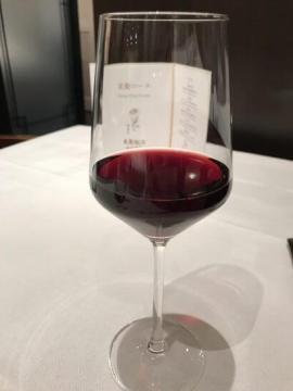 重慶飯店 麻布賓館の赤ワイン