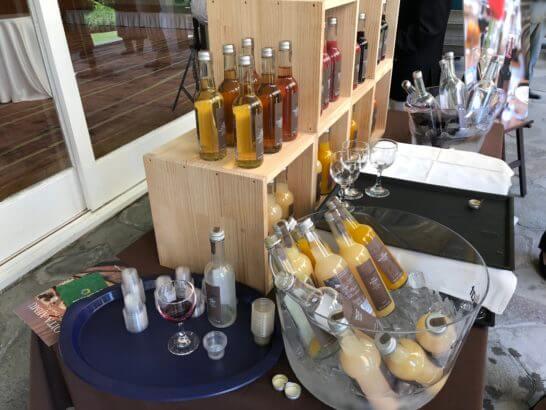 ダイナースクラブ フランス レストランウィーク2018のジュース
