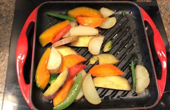 ピャチェーレの野菜炒め