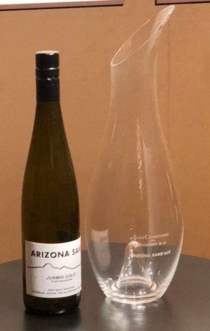 海外出品酒部門1位のボトル