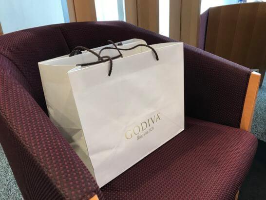 三越で買ったゴディバ