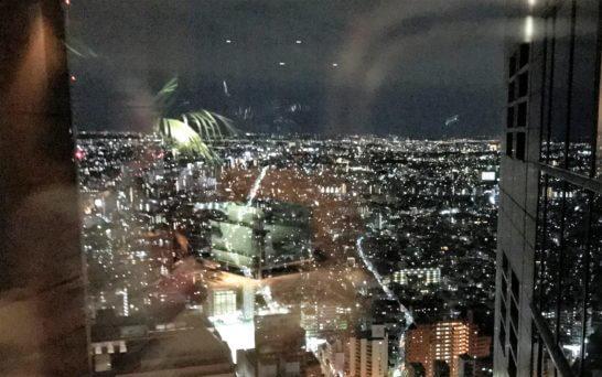 パークハイアット東京の廊下の夜景