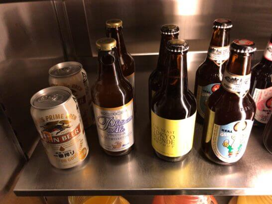 グランドハイアット東京のクラブラウンジのクラフトビール (2)