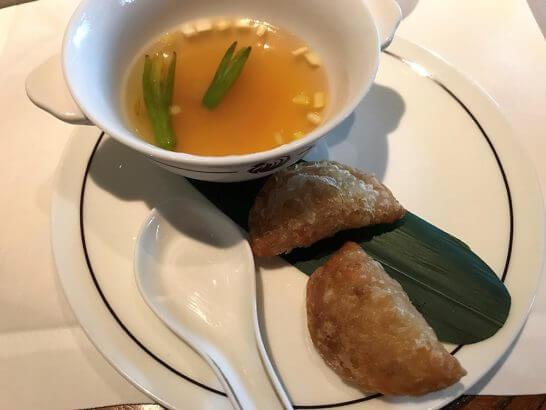 北海道産干し貝柱と干し海老入りスープ餃子