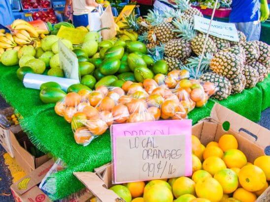 ハワイの果物