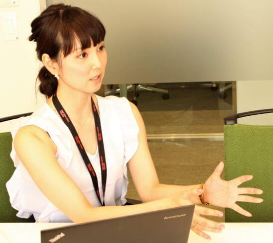 マネックスグループ 広報の松﨑裕美さん
