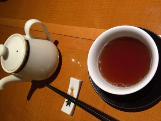 伊勢丹の中華料理 (お茶)