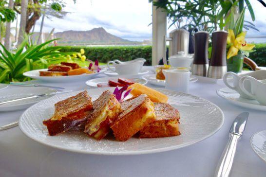 ハワイのレストラン