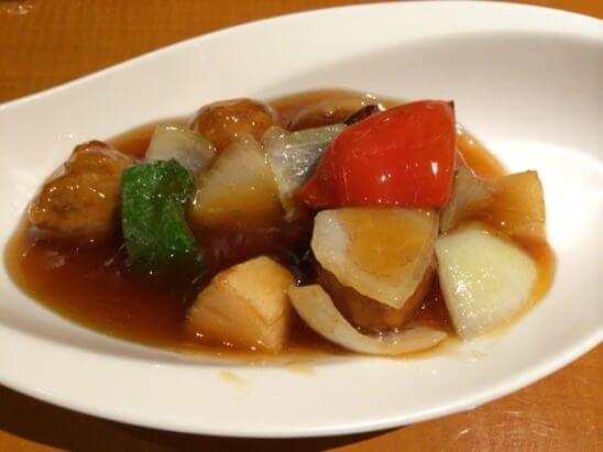 伊勢丹の中華料理(酢豚)