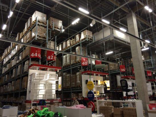 IKEAの店内