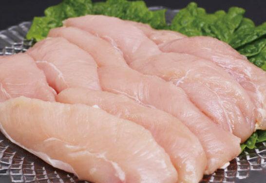 こだわり配合飼料育成米ヶ岡鶏ササミ